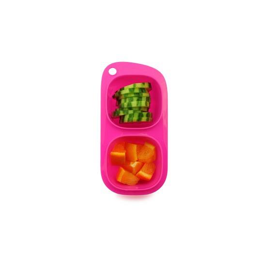 goodbyn snacks pink lunchboxen mit unterteilung lunchboxen beh lter snacken. Black Bedroom Furniture Sets. Home Design Ideas