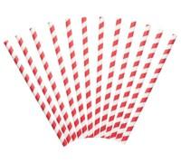 Kitchen Craft - Paper Straws - Jumbo rot