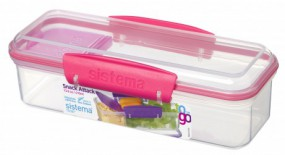 Sistema - Snack Attack to Go - pink