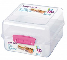 Sistema - Cube - to Go - pink