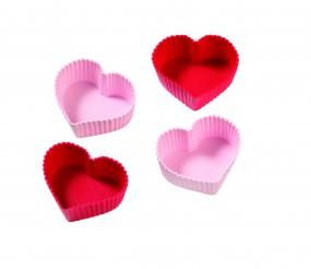 Silikonformen Set - Herzen