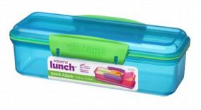 Sistema - Snack Attack - Lunch - blau