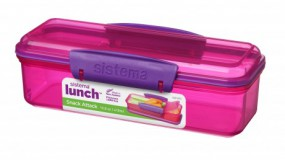 Sistema - Snack Attack - Lunch - pink