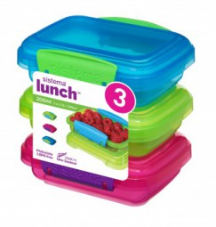 Sistema - Lunch Boxen Set - 3er, 200ml