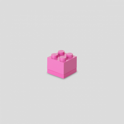 Lego - Mini-Snackbox - pink