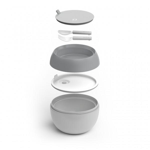 bentgo bowl grau lunchboxen mit unterteilung lunchboxen beh lter snacken lunchen. Black Bedroom Furniture Sets. Home Design Ideas