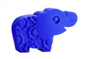 Lunchbox - Elefant - blau