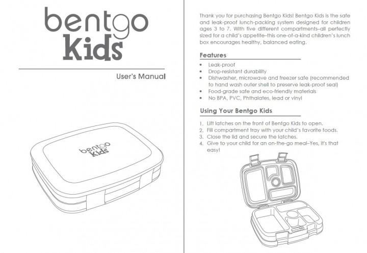bentgo kids blau lunchboxen mit unterteilung lunchboxen beh lter snacken lunchen. Black Bedroom Furniture Sets. Home Design Ideas
