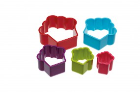 Colourworks - Ausstecher-Set - Cupcakes