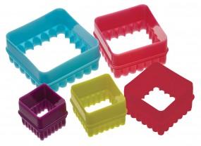 Colourworks - Ausstecher-Set - Quadrate