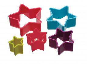 Colourworks - Ausstecher-Set - Sterne