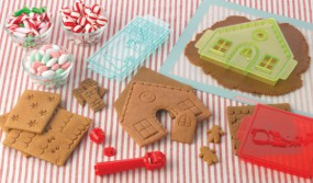 Sweet Creations - Gingerbread House Cutter Set