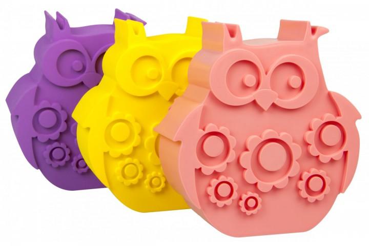 lunchbox eule gelb lunchboxen mit unterteilung lunchboxen beh lter snacken lunchen. Black Bedroom Furniture Sets. Home Design Ideas