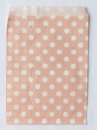 Candybag - L - rosa gepunktet