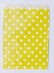 Candybag - L - gelb gepunktet