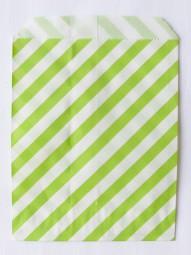 Candybag - M - grün gestreift