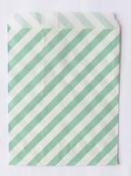 Candybag - M - petrol gestreift
