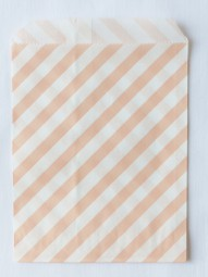 Candybag - M - rosa gestreift