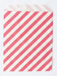 Candybag - M - rot gestreift