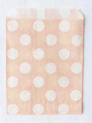 Candybag - M - rosa gepunktet