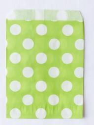 Candybag - M - grün gepunktet