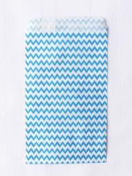 Candybag - S - Chevron blau
