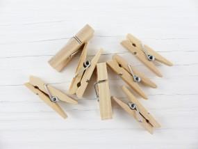 Mini Holzklammern - 3,5cm