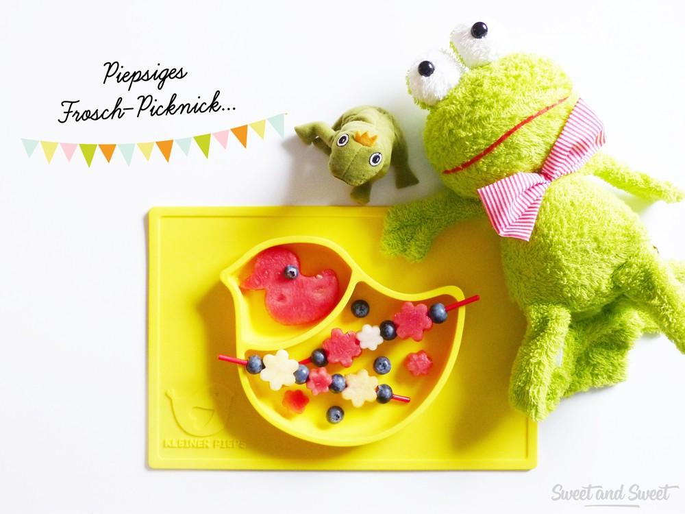 Piepsiges Frosch-Picknick…