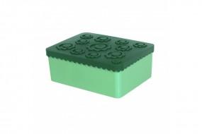 Lunchbox - Blumen - grün