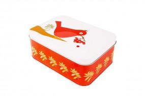 Lunchbox - Vogel - rot