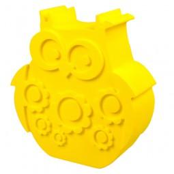 Lunchbox - Eule - gelb