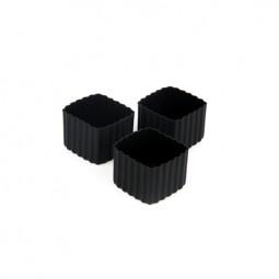 Little Lunch Box Co. - Silikonformen - Square schwarz