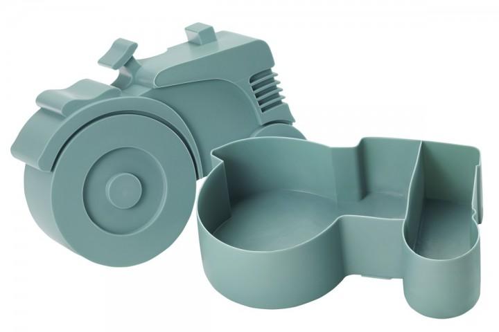 blafre lunchbox traktor blau lunchboxen mit unterteilung lunchboxen beh lter snacken. Black Bedroom Furniture Sets. Home Design Ideas