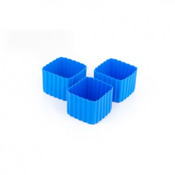 Little Lunch Box Co. - Silikonformen - Square blau
