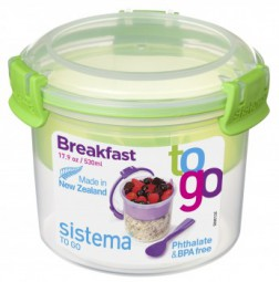Sistema - Breakfast - to Go - grün