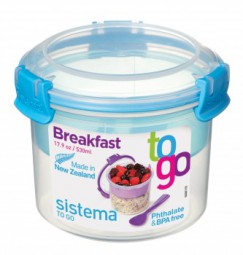 Sistema - Breakfast - to Go -blau