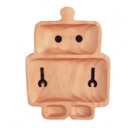 Time Concept - Holzteller - Roboter Grande