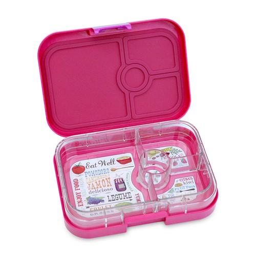 yumbox panino frambiose pink lunchboxen mit unterteilung lunchboxen beh lter snacken. Black Bedroom Furniture Sets. Home Design Ideas