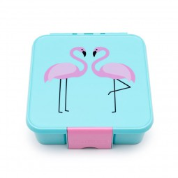 Little Lunch Box Co. - Bento 3 - Flamingo