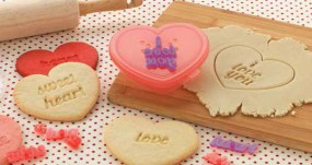 Sweet Creations - Heart Cookie Cutter Set