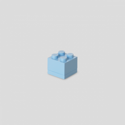 Lego - Mini-Snackbox - hellblau