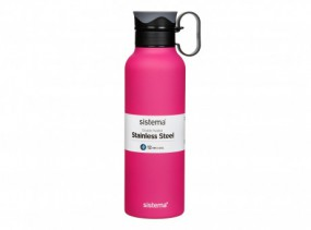 Sistema - Hydrate - 600ml - fuchsia pink