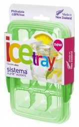 Sistema - Eiswürfelform - 12er - grün
