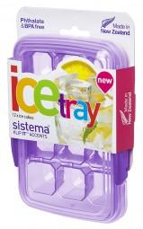 Sistema - Eiswürfelform - 12er - lila