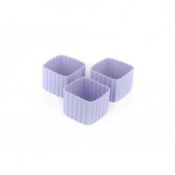 Little Lunch Box Co. - Silikonformen - Square lila