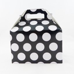 Lunchbox/Partybox - bw gepunktet - M