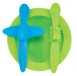 oogaa - Mealtime Set - grün 3035