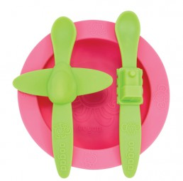 oogaa - Mealtime Set - pink 3011