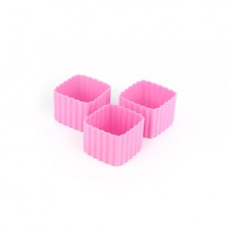 Little Lunch Box Co. - Silikonformen - Square pink