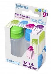 Sistema - Salz & Pfeffer Streuer - to Go